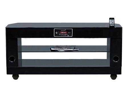 Meuble Tv Soundvision Sv 300b Noir Sv300b Darty