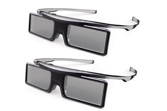 Lunettes 3D PACK 2 PAIRES DE LUNETTES 3D GX21AB Thomson