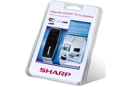 cl wifi pour tv sharp an wud630 anwud630 darty. Black Bedroom Furniture Sets. Home Design Ideas