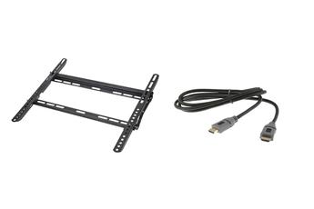Support mural pour écran plat FIX TSW 400 + CÂBLE HDMI Temium