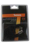 Cordon et fiche téléphone Temium CORDON TELEPHONIQUE 5M RJ11 MALE / RJ45 MALE
