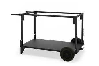 Accessoire barbecue et plancha Le Marquier Chariot Plancha Exception Pakita Noir
