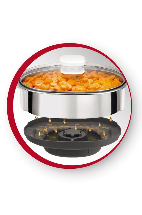 Accessoire robot moulinex panier vapeur companion cuisine for Robot cuisine darty