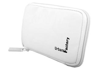 """Housse pour disque dur Etui de protection vinyl blanc pour disque dur externe 2,5"""" Urban Factory"""