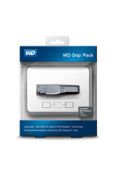 Boîtier disque dur GRIP PACK 1 GREY Wd