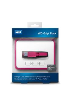 Boîtier disque dur GRIP PACK 1 PINK Wd