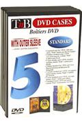 Rangement CD / DVD Tnb 5 BOITES DVD
