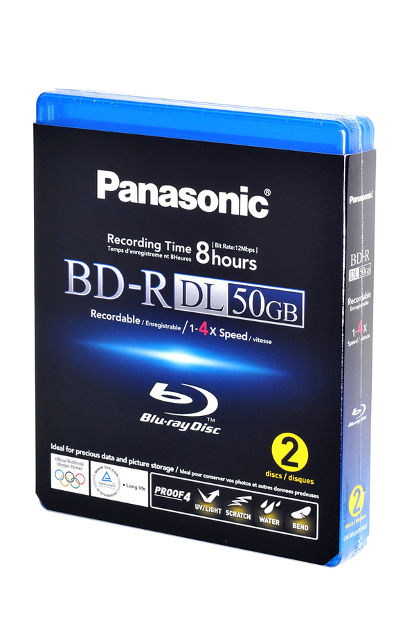 disque blu ray panasonic 2 bd r dl 50 go 2bd r dl 50go 1336959 darty. Black Bedroom Furniture Sets. Home Design Ideas