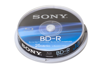 CD / DVD / Blu-Ray 10 BR-D 25 Go Sony