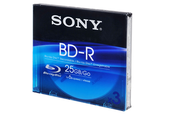 CD / DVD / Blu-Ray 3 BR-D 25 Go Sony