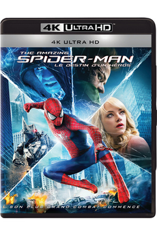 Disque Blu-ray AMAZING SPIDER-MAN - LE DESTIN D'UN HEROS - BD 4KUHD Sony