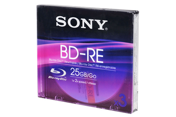 CD / DVD / Blu-Ray 3 BD-RE 25 Go Sony