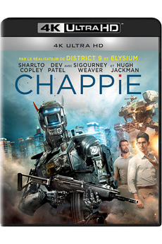 Disque Blu-ray CHAPPIE - BD 4KUHD Sony