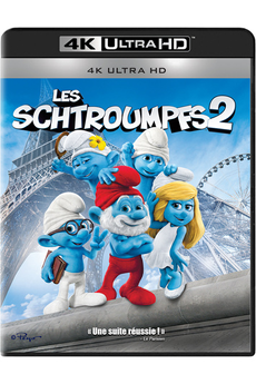 Disque Blu-ray LES SCHTROUMPFS 2 - BD 4KUHD Sony