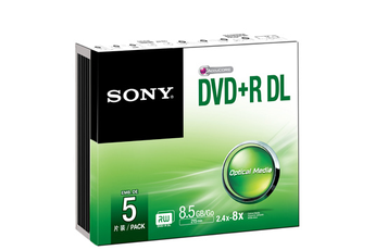 CD / DVD / Blu-Ray DVD-R + DL 8.5 GO Sony
