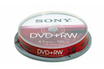 CD / DVD / Blu-Ray DVD+RW SC x 10 Sony