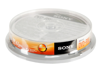 CD / DVD / Blu-Ray DVD-RW SPINDLE X10 Sony