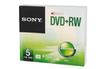 Sony DVD+RW Boitier individuel X5 photo 1
