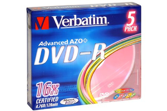 CD / DVD / Blu-Ray DVD-R x5 Verbatim