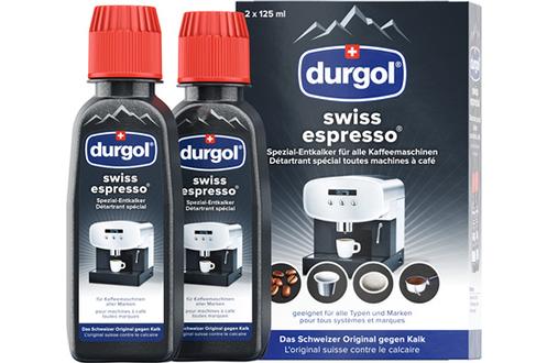 Nettoyant et détartrant pour cafetière Durgol DU766 SWISS ESPRESSO