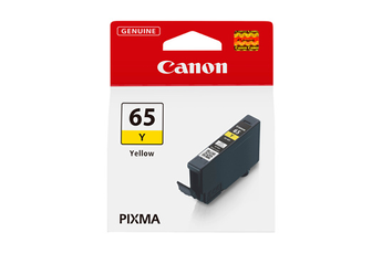 Cartouche d'encre Canon CLI-65 JAUNE