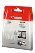 Cartouche d'encre Canon Pack PG-545 noir + CL-546 couleur
