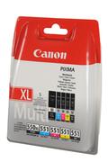Cartouche d'encre Canon PGI 550 XL / CLI 551