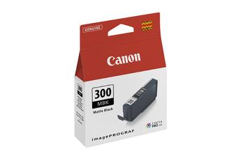Cartouche d'encre Canon PFI-300M NOIRE MAT