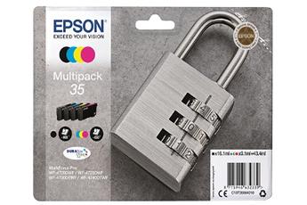 Cartouche epson t3586 n/c/m/j série cade - livraison offerte : code livpremium