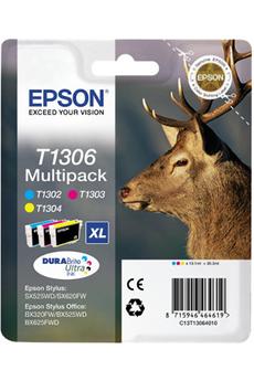 Cartouche d'encre Cerf T1306 3 couleurs XL Epson