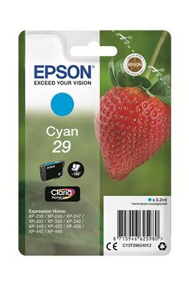 Cartouche d'encre cyan d'origine Epson Contenance de 3,2 ml Gamme fraise standard