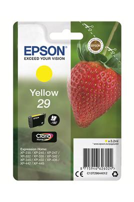 Cartouche d'encre jaune d'origine Epson Contenance de 3,2 ml Gamme fraise standard