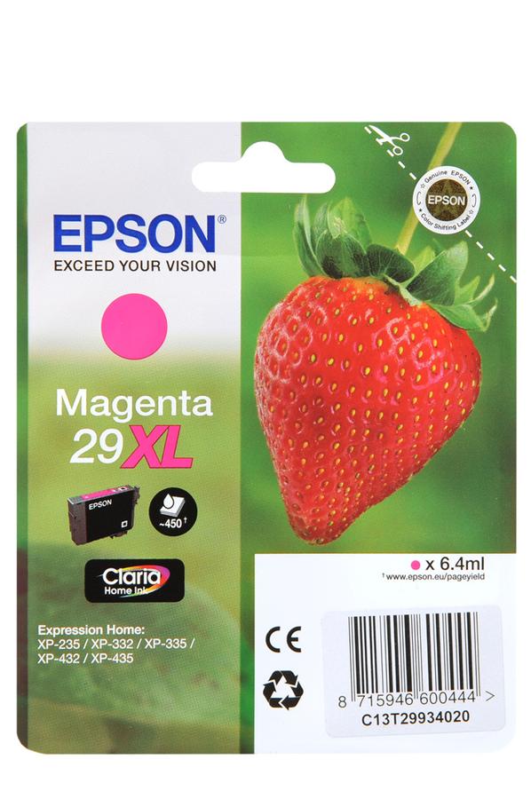 cartouche d 39 encre epson fraise magenta t2993 xl 4151380 darty. Black Bedroom Furniture Sets. Home Design Ideas