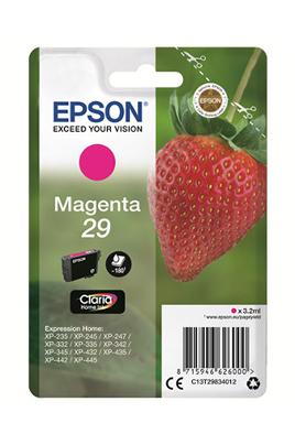 Cartouche d'encre magenta d'origine Epson Contenance de 3,2 ml Gamme fraise standard