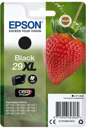 cartouche d 39 encre epson fraise noir t2991 xl darty. Black Bedroom Furniture Sets. Home Design Ideas