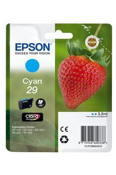 Cartouche d'encre FRAISE T2982 Cyan Epson