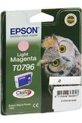 Cartouche d'encre Epson Hibou T0796 magenta clair