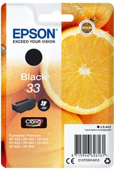 Cartouche d'encre Orange T3331 Noir Epson