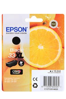 Cartouche d'encre ORANGE T3351 Noir Bureautique XL Epson