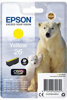 Cartouche d'encre Ours T2614 jaune Epson