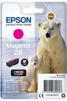 Cartouche d'encre ours T2613 Magenta Epson