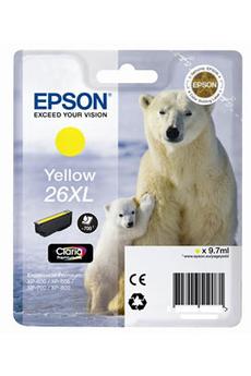 Cartouche d'encre ours T2634 XL jaune Epson