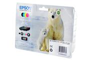Cartouche d'encre Epson Pack Ours T2636 XL 4CL