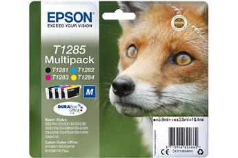 Cartouche d'encre Pack Renard T1285 4 couleurs Epson