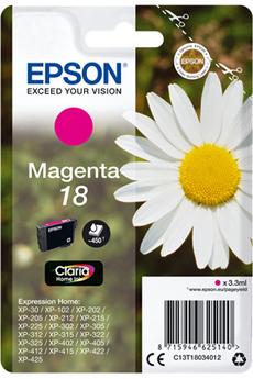 Cartouche d'encre paquerette T1803 magenta Epson