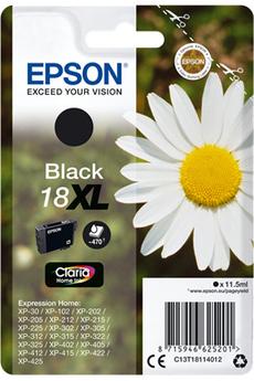 Cartouche d'encre Paquerette T1811 XL Noir Epson