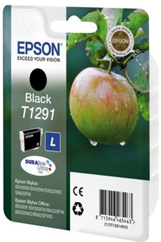 Cartouche d'encre Pomme T1291 noir Epson
