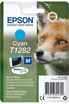 Cartouche d'encre Renard T1282 cyan Epson