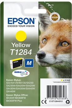 Cartouche d'encre Renard T1284 jaune Epson