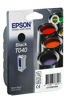 Cartouche d'encre peinture T040 noir Epson